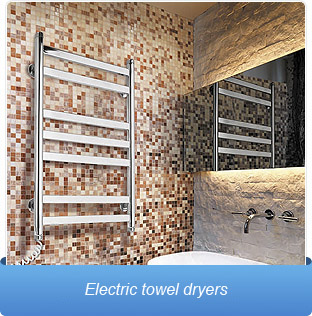 Electric towel dryers