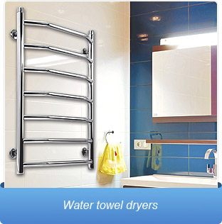 Water towel dryers